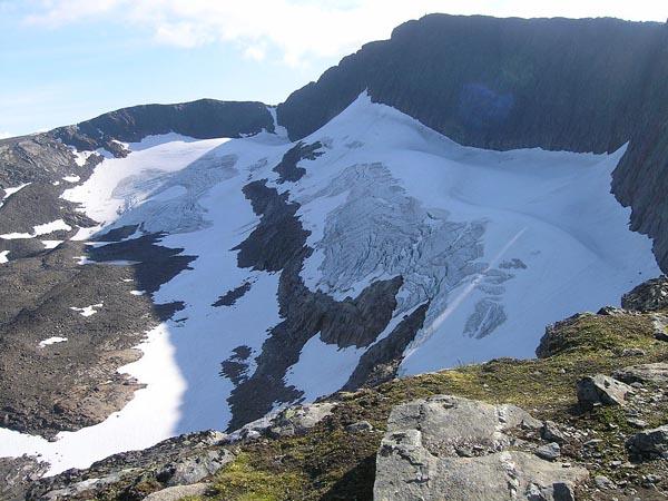 Der Helags-Gletscher. Foto: commons.wikimedia.org