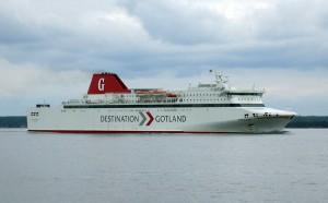 Per Fähre geht's nach Gotland. Foto: jorchr, commons.wikimedia.org (CC BY-SA 3.0)