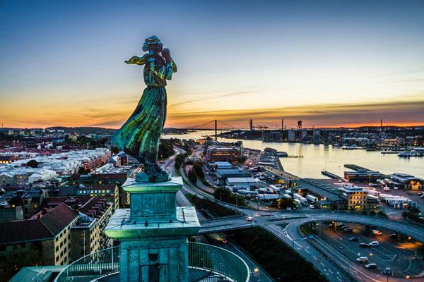 Göteborg, die Stadt am Meer. Foto: Per Pixel Petersson/ imagebank.sweden.se