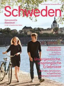 """Schwede Schwedenstube Reisemagazin """"Schweden"""" druckfrisch erschienen"""