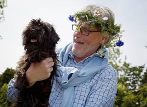 Schweden erleben mit Hund. Foto: Carolina Romare/ imagebank.sweden.se