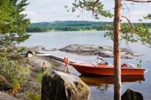 Sommerurlaub am See. Foto: Johan Willner/ imagebank.sweden.se