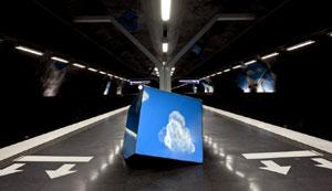 Station Vreten/ Solna Strand. Foto: Micha Pawlitzki.