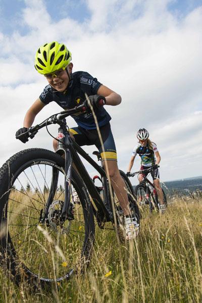 Die Isaberg-Arena - speziell für Mountainbike-Fans. Foto: Carl-Robert Jonzon