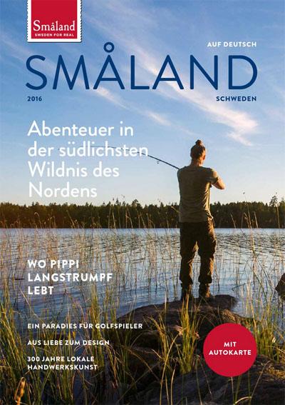 Das Småland-Magazin. Zu bestellen oder online zu lesen unter http://www.visitsmaland.se/de/broschuren