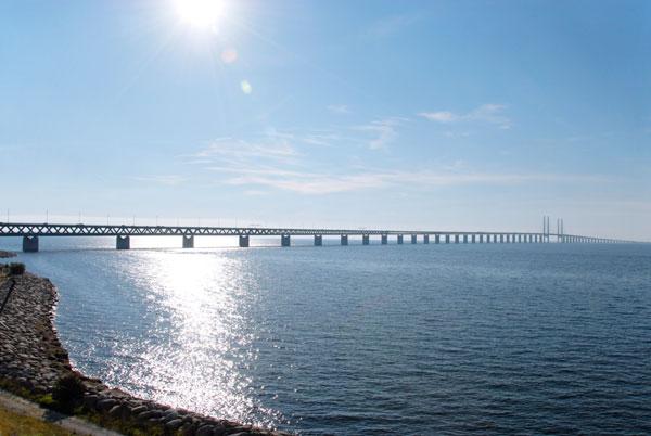 Ein Weg nach Schweden führt über den Öresund. Foto: Silvia Man/ imagebank.sweden.se