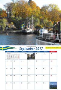 Beispiel-Kalenderblatt September 2017