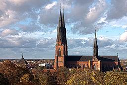 Domkirche Uppsala - Quelle: Wikipedia, David Castor