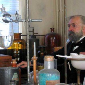 Alfred Nobels Laboratorium auf Björkborn in Värmland. Foto: Hans Johansson