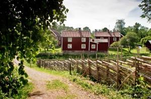 Rote Häuschen in Smaland