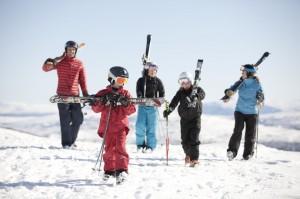 Ski fahren in Schweden