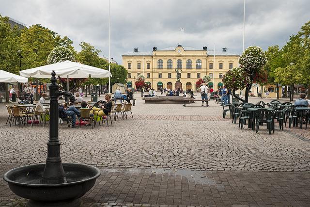 Blick über den Stora torget in Värmlands Residenzstadt Karlstad. Foto: Göran Höglund / flickr.com (CC BY-ND 2.0)
