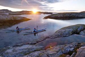 Kajak-Tour bei Långeskär in Bohuslän. Foto: Henrik Trygg/ imagebank.sweden.se