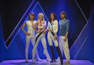 Ewig vereint und ewig jung. ABBA als Silikon-Figuren im Museum. Foto: Pål Allan/ ABBA The Museum