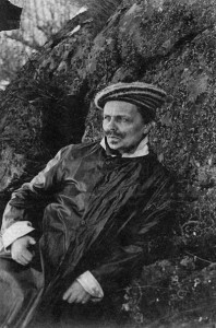 August Strindberg, Selbstportrait.