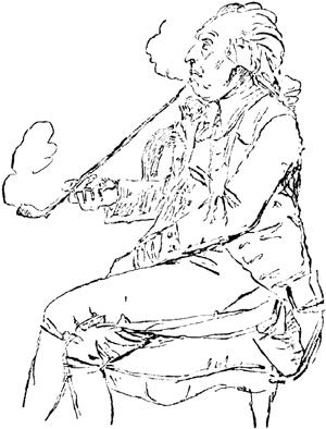 Bellman lebte von 1740 bis 1795.
