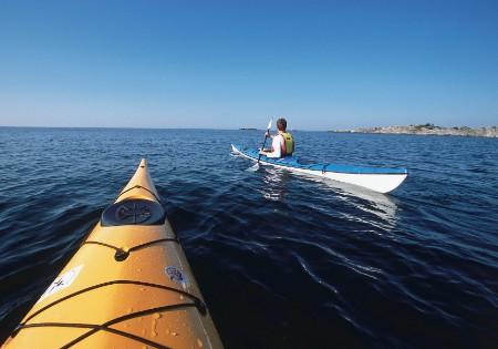Kajak-Paradies an Schwedens Westküste. Foto: Henrik Trygg, Imagebank Sweden
