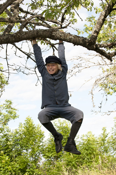 In der Astrid Lindgrens Welt trifft man auch auf Michel aus Lönneberga