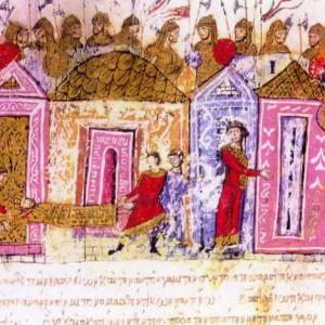 Die Warägergarde in der Chronik des Johannes Skylitzes (12. Jahrhundert).