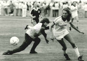 Mädchen waren von Beginn an mit dabei. Foto: Gothia Cup.