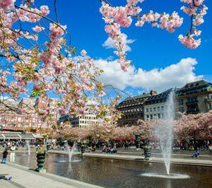 Stockholm Frühling