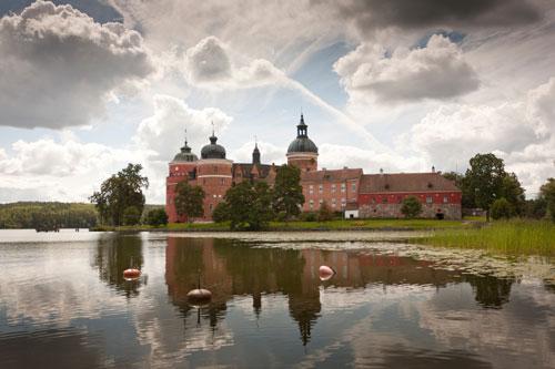 Gripsholm, das berühmteste Schloss Schwedens. Foto: Mattias Leppäniemi /imagebank.sweden.se