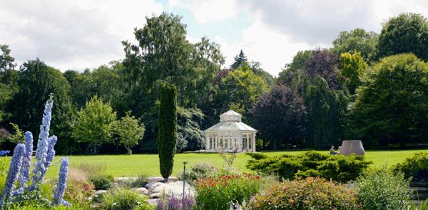 Oase der Ruhe: Der Botanische Garten. Foto: Nicho Södling/ imagebank.sweden.se