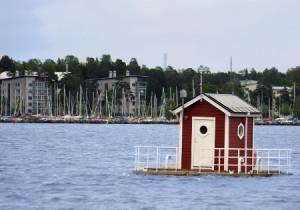 """Das Hotel """"Utter Inn"""" bietet eine etwas andere Unterkunft am Mälaren. Foto: Jennifer Gosch/ Västerås & Co"""