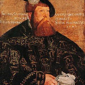Gustav Vasa (1496-1580).