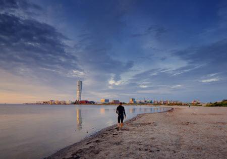 Rivieras und Playas gibt es auch in Schweden. Foto: Werner Nystrand/ Malmö Turism