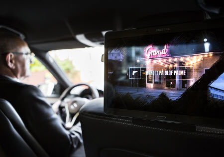 "Mit dem Dienst ""Explore"" folgt man den Spuren echter Kriminalfälle. Foto: Taxi Stockholm"