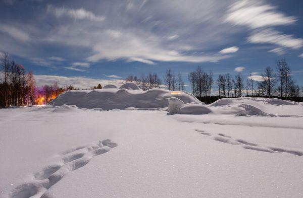 Winter-Wunderland Lappland. Foto: www.iglootel.de