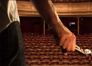 Wallander auf der Bühne. Foto-Ausschnitt aus www.wallander-opera.com/