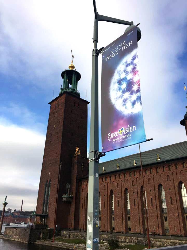 Stockholm macht sich schick für den ESC. Foto: City of Stockholm