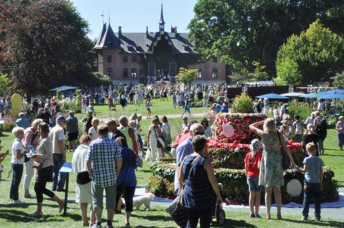 Einmal im Jahr wird das große Gartenfest gefeiert. Foto: Sophie Håkansson, Sofiero slott.