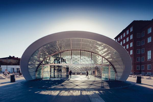 Seit Einführung der Grenzkontrollen ist am Malmöer Bahnhof nicht alles eitel Sonnenschein... Foto: Werner Nystrand/Folio/ imagebank.sweden.se
