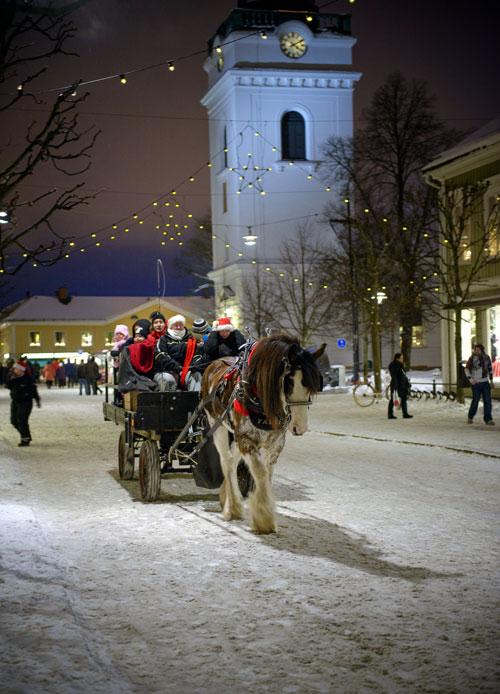 Weihnachten in Eksjö. Foto: Johan Lindqvist