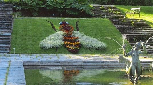 Göteborgs Botaniska Bienenmotiv