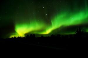 Aurora Borealis. Foto: Kiruna Guidetur