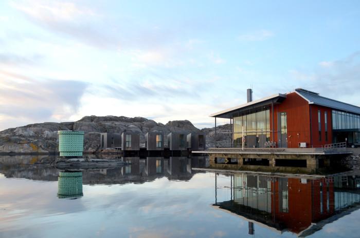 Das Nordische Aquarellmuseum in Skärhamn. Foto: © Anders Arena
