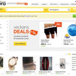 ebay heißt in Schweden Tradera