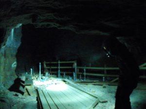 Am Ende des Stollens: Die Höhle