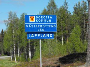 An der südlichen Grenze Schwedisch-Lapplands liegt Dorotea