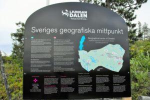 Tafel Sveriges Geografiska Mittpunkt
