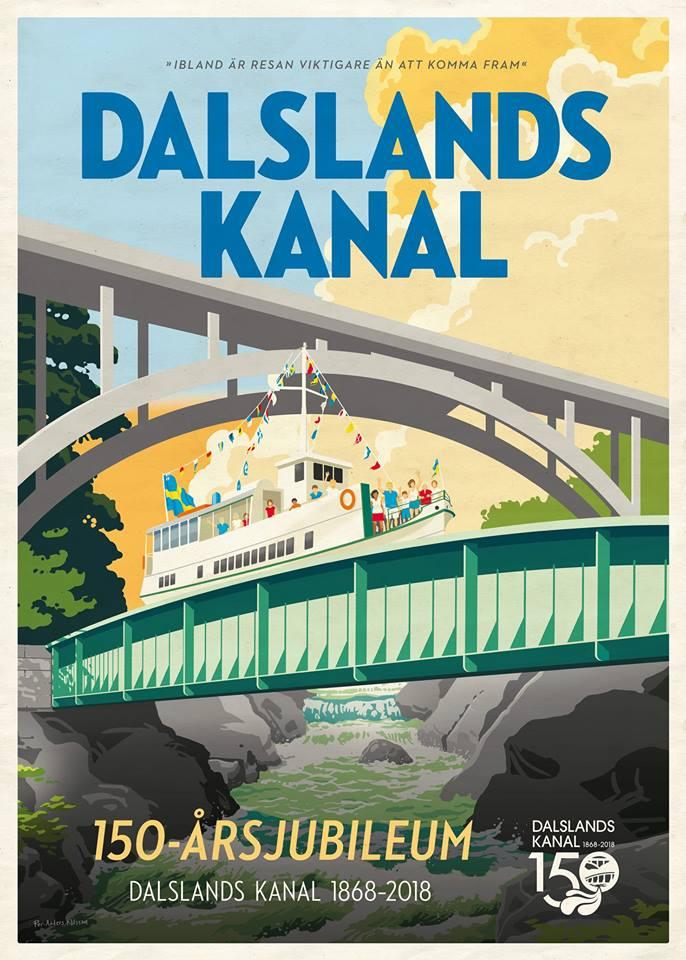 Dalslandkanal 150 Jahre