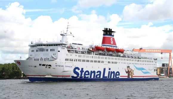 Die Stena Danica verkehrt hauptsächlich zwischen Göteborg und Fredrikshamn. Foto: Stena Line