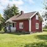 Ferienhaus in Schweden von vorne