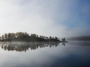 Fjallnas_Lake_Malmagen_Mist