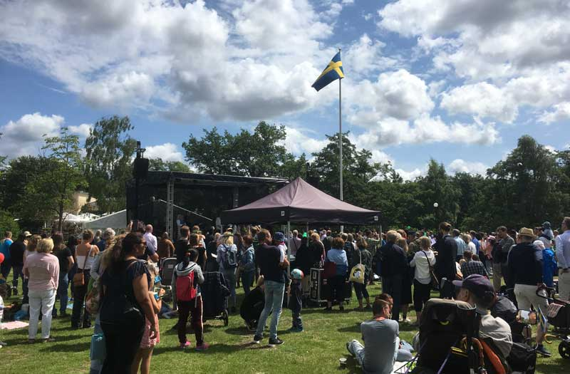 Schweden Im Juni