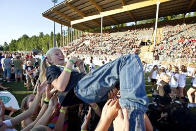 Fix was los in Umeå - und das über 8 Jahreszeiten. Von Football bis Food, von Folk bis Rock-Festival wird eine Menge geboten. Foto: Henrik Olofsson.
